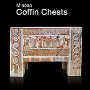 Pictures & Images of Minoan Larnax Coffin Chest Sarcophagus