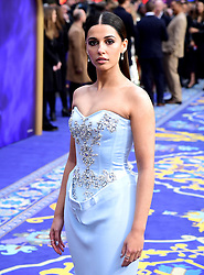 Naomi Scott attending the Aladdin European Premiere held at the Odeon Luxe Leicester Square, London.