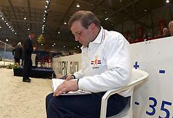 Hamminga Johan<br />KWPN hengstenkeuring 2003<br />Photo © Dirk Caremans