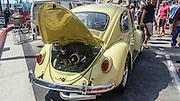 Volkswagen beetle at the Huntington beach car show March 2016