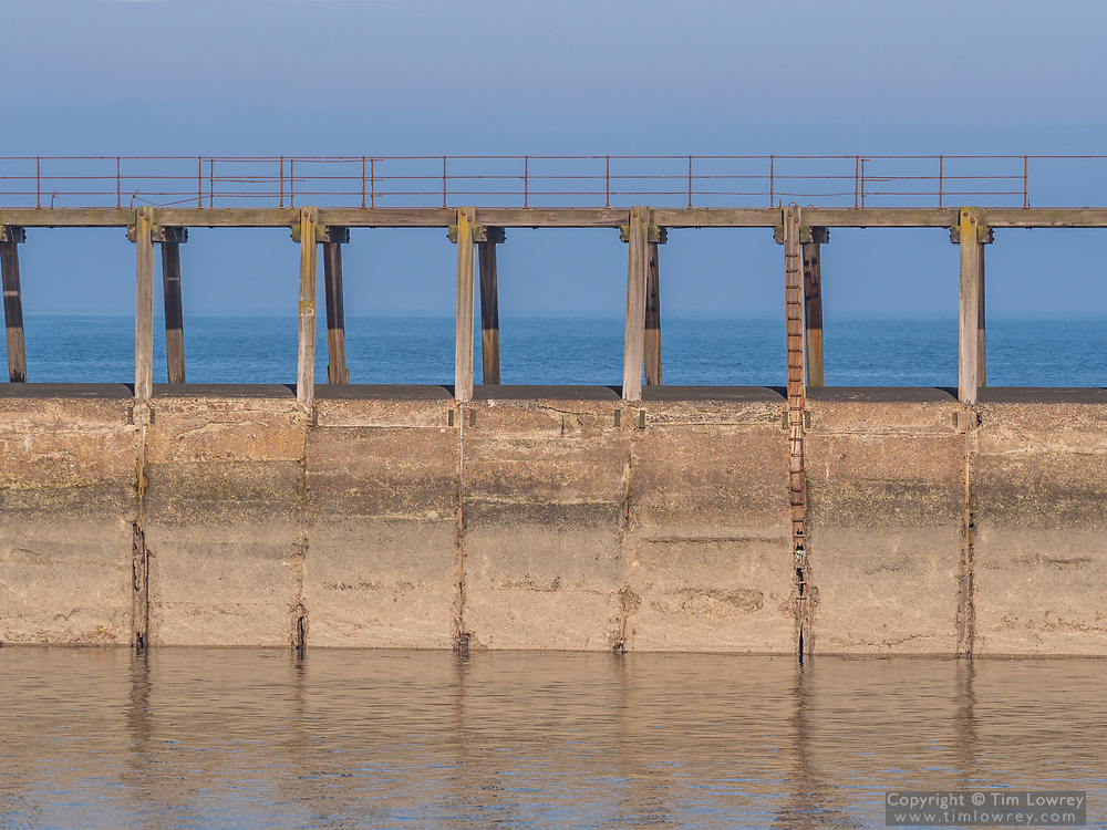 The East Pier Of Blyth Harbour