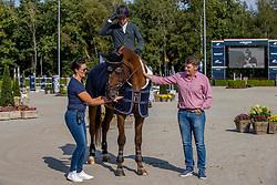 Farewell, Smolders Harrie, NED, Don VHP Z<br /> Global Champions Tour - Valkenswaard 2020<br /> © Hippo Foto - Dirk Caremans<br />  12/09/2020