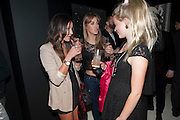 ROXIE NAFOUSI; DAISY DODD-NOBLE; POPPY JAMIE, Russell Young: American Envy - private view<br /> Scream Gallery Bruton Street, London, 7 April 2011. <br /> <br /> -DO NOT ARCHIVE-© Copyright Photograph by Dafydd Jones. 248 Clapham Rd. London SW9 0PZ. Tel 0207 820 0771. www.dafjones.com. *** Local Caption ***<br /> ROXIE NAFOUSI; DAISY DODD-NOBLE; POPPY JAMIE, Russell Young: American Envy - private view<br /> Scream Gallery Bruton Street, London, 7 April 2011. <br /> <br /> -DO NOT ARCHIVE-© Copyright Photograph by Dafydd Jones. 248 Clapham Rd. London SW9 0PZ. Tel 0207 820 0771. www.dafjones.com.