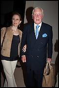 ROSANNA LE MAY; SIR BENJAMIN SLADE, Masterpiece London 2014 Preview. The Royal Hospital, Chelsea. London. 25 June 2014.