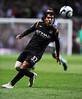 Carlos Tevez<br /> Manchester City 2009/10<br /> Aston Villa V Manchester City (1-1) 05/10/09<br /> The Premier League<br /> Photo Robin Parker Fotosports International
