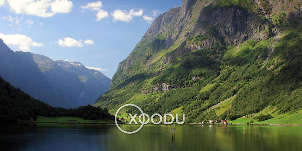 Naeroyfjord, (none), Norway (August 2006)