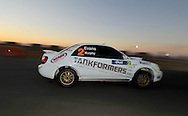 Eli EVANS & Chris MURPHY .Subaru  Impreza WRX.Motorsport-Rally/2009 Forest Rally .Super Special.3rd of April 2009.Busselton Foreshore, Busselton, Western Australia.(C) Joel Strickland Photographics