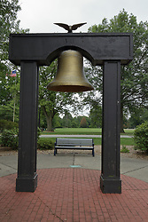 McLean County Illinois monuments and landmarks<br /> <br /> This bell at one time was a part of the  Memorial for the remembrance of valorous deeds by local men who participated in the War of the Rebellion (Civil War).