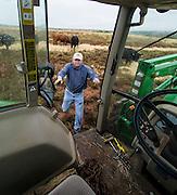 Congressman Frank Lucas around his ranch in western Oklahoma.
