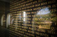 Cemetery of Vietnamese Martyrs in Hill A1 'Eliane 2,' (644 tombs) Dien Bien Phu City center, Muong Thanh Valley, Dien Bien Province, Vietnam, Southeast Asia