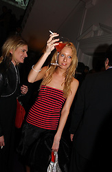 Left to right, MISS EMILY LOBEL and the HON.SOPHIA HESKETH at a party hosted by jeweller Theo Fennell and Dominique Heriard Dubreuil of Remy Martin fine Champagne Cognac entitles 'Hot Ice' held at 35 Belgrave Square, London, W1 on 26th October 2004.<br /><br />NON EXCLUSIVE - WORLD RIGHTS