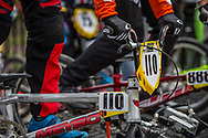 #110 (SMULDERS Laura) NED at the 2016 UCI BMX World Championships in Medellin, Colombia.