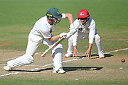 Central Stags Christian Leopard bats in the Plunket Shield Cricket match, Central Districts v Canterbury, McLean Park, Napier, Tuesday, April 06, 2021. Copyright photo: Kerry Marshall / www.photosport.nz