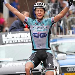 Sportfoto archief 2012<br /> Nederlands Kampioenschap Kerkrade Elite Niki Terpstra pakt de titel op imponerende wijze