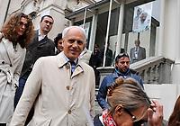 Roberto Bettega, Presidente della Juventus<br /> Visita dei giocatori della Juventus all Sacra Sindone a Torino<br /> Torino, 27/04/2010<br /> © Giorgio Perottino / Insidefoto