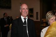 Charles Saumeraz Smith , Georg Baselitz, Royal Academy. 18 September 2007. -DO NOT ARCHIVE-© Copyright Photograph by Dafydd Jones. 248 Clapham Rd. London SW9 0PZ. Tel 0207 820 0771. www.dafjones.com.
