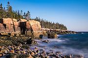 Same tupical Maine rocky coastline.
