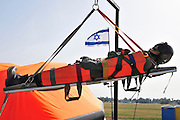 Israel, Tel Nof IAF Base, An Israeli Air force (IAF) exhibition Air rescue demonstration
