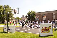 Jordan Brand Breakfast Club for Chicago Public School under privileged kids program.