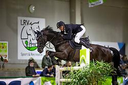 Kooremans Raf, BEL, Cavalor Chai Chai<br /> Nationaal Indoor Kampioenschap Pony's LRV <br /> Oud Heverlee 2019<br /> © Hippo Foto - Dirk Caremans<br /> 10/03/2019