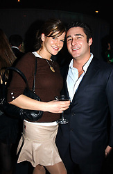 LUCA DEL BONO and KATE SUMNER daughter of singer Sting at a party hosted by Panerai and the Baglioni Hotel, 60 Hyde Park Gate, London on 6th December 2004.<br /><br />NON EXCLUSIVE - WORLD RIGHTS