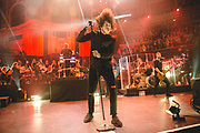 'Bring Me the Horizon' performing at the Teenage Cancer Trust gigs with support from 'PVRIS' at the Royal Albert Hall 22-4-16