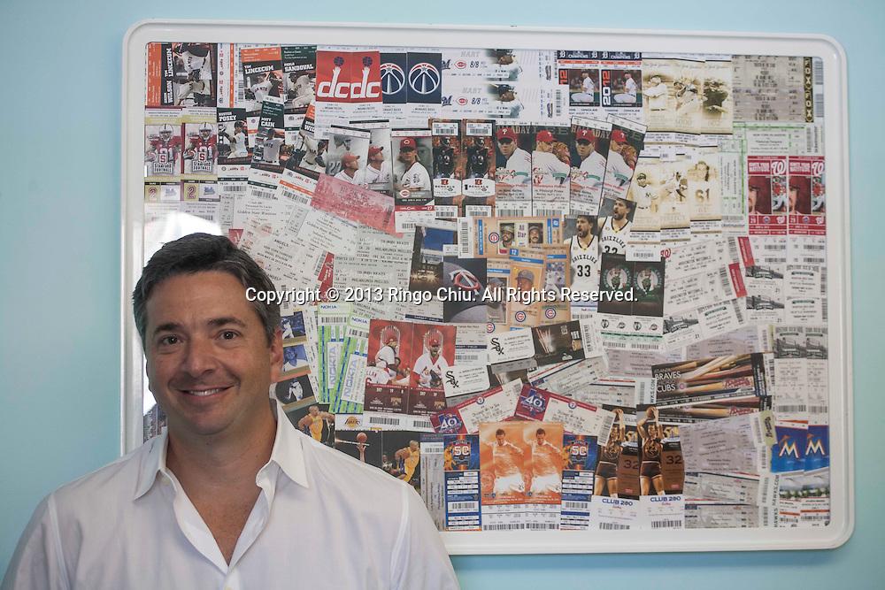 Adam Kanner, founder and chief executive of ScoreBig. (Photo by Ringo Chiu/PHOTOFORMULA.com)