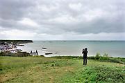 Frankrijk, Arromanches, 11-5-2013 Serie over de invasie door de geallieerden op de stranden van Normandie, 6 juni 1944. Bevrijding, herdenking, 2e, tweede wereldoorlog, oorlog, atlantik wall, dday, d-day, d day Foto: Flip Franssen