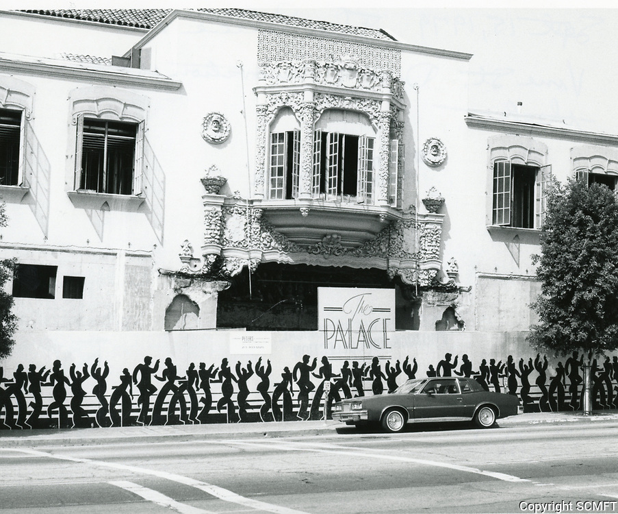 1987 The Palace Theater on Vine St.