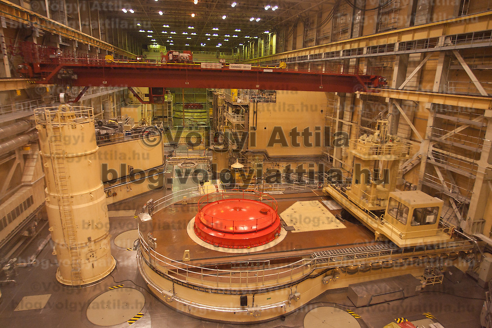 A general view of the reactor hall of the building in Paks, 120 km (75 miles) east of Budapest, Hungary on March 23, 2011. ATTILA VOLGYI