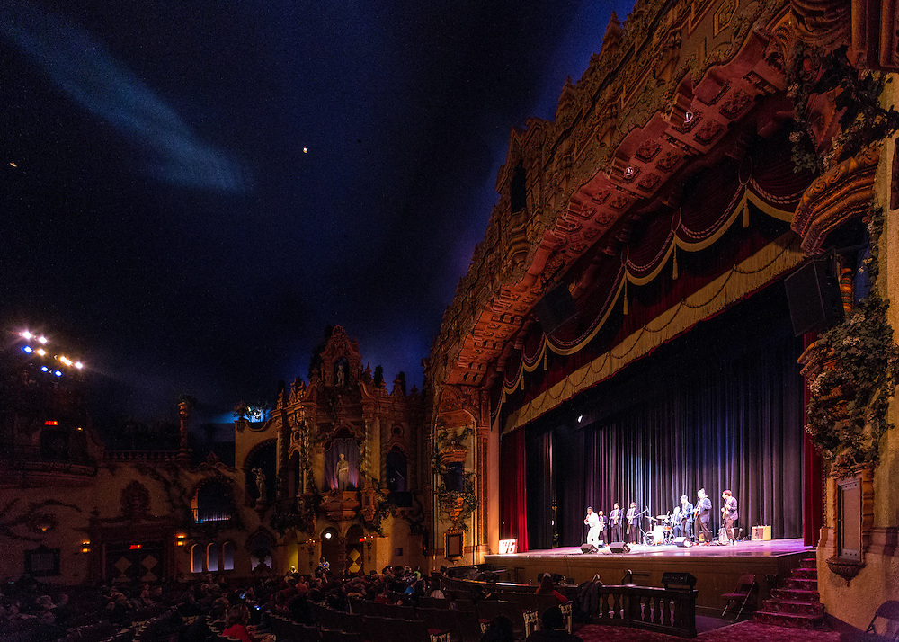 Wesley Bright and the Honey Tones perform at the Akron Civic Theatre at First Night Akron 2017.