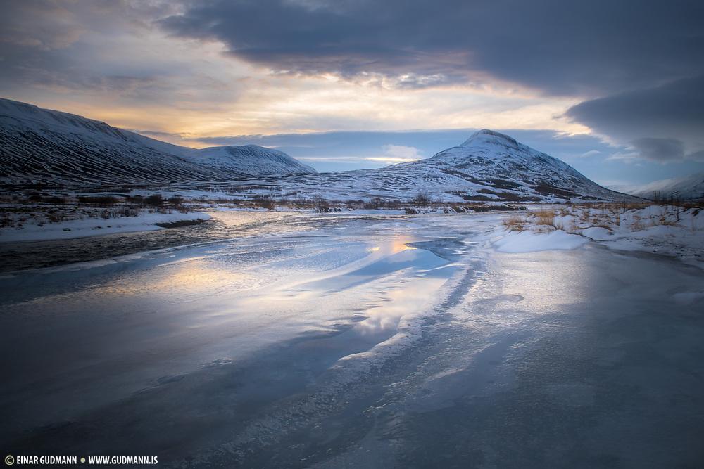 Eyjafjördur in north Iceland. Taken near Skjolgardur.