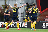 Goal 0-2 - Tommy Smith (14) of Stoke City celebrates scoring the second goal during the EFL Sky Bet Championship match between Bournemouth and Stoke City at the Vitality Stadium, Bournemouth, England on 8 May 2021.