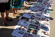 The Caravan of Central American Mothers arrives to Irapuato, Guanajuato, on October 23rd, 2012. (Photo: Prometeo Lucero)