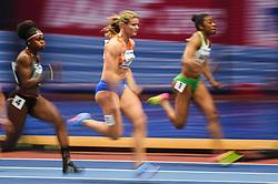 March 2, 2018 - Birmingham, Gangwon, United Kingdom - Dafne Schippers at 60m, heat 1, at World indoor Athletics Championship 2018, Birmingham, Englandon March 2, 2018. (Credit Image: © Ulrik Pedersen/NurPhoto via ZUMA Press)