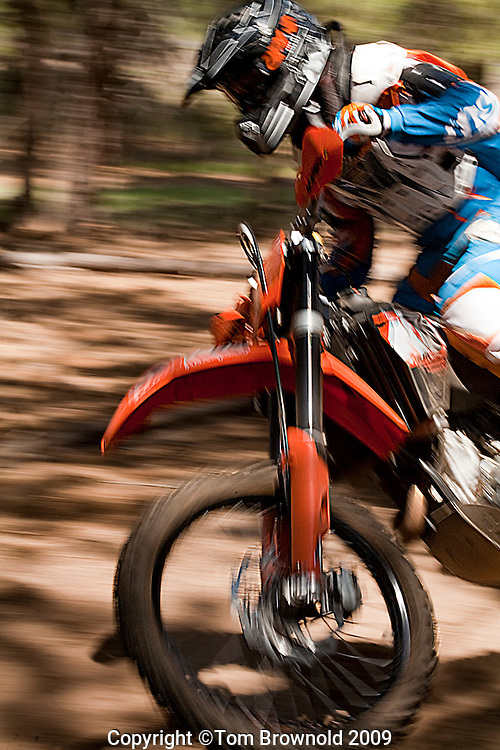 Dave smith on his dirt bike