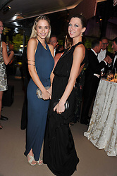 Left to right, FLORENCE BRUDENELL-BRUCE and MARGOT STILLEY at the Raisa Gorbachev Foundation Gala held at the Stud House, Hampton Court, Surrey on 22nd September 22 2011