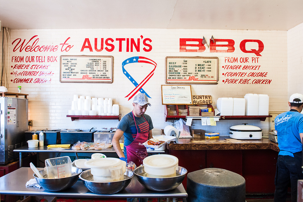 Austins BBQ in Eagle Lake, Texas