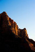 Sunset in Zion National Park, Utah