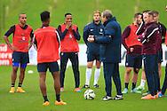 Nathaniel Clyne of England - England Training & Press Conference - UEFA Euro 2016 Qualifying - St George's Park - Burton-upon-Trent - 11/11/2014 Pic Philip Oldham/Sportimage