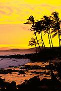 Sunset, Poipu, Kauai, Hawaii, USA<br />