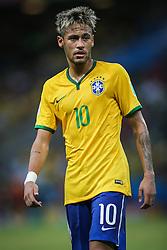 Neymar Jr. na partida entre Brasil x México, válida pela segunda rodada do grupo A da Copa do Mundo 2014. FOTO: Jefferson Bernardes/ Agência Preview