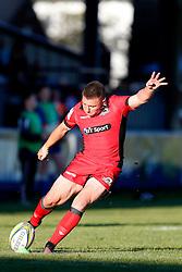 Duncan Weir of Edinburgh Rugby - Mandatory by-line: Matt McNulty/JMP - 19 August 2016 - RUGBY - Heywood Road Stadium - Manchester, England - Sale Sharks v Edinburgh Rugby - Pre-Season Friendly
