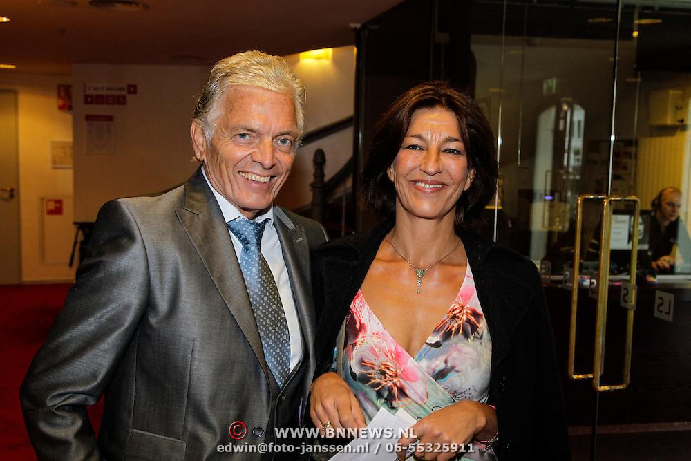 NLD/Leiden/20121021- Premiere Contrapunt, Ben Cramer en partner Carla van der Waal