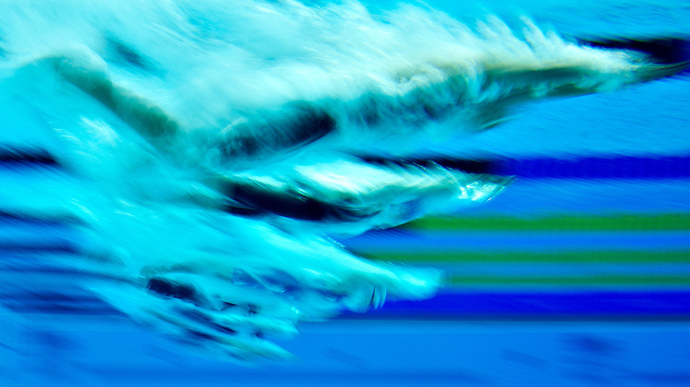 Mia Hawkes is competing in the Women's 50m Freestyle Heats. during the British Gas Swimming Championships 2012 (Selection Trials) at the Aquatics Centre in the Olympic Park, in London, 04 March 2012. BOGDAN MARAN / BPA