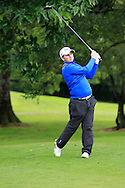 Caolan Rafferty (Greenore) on the 3rd tee during round 1 of The Mullingar Scratch Cup in Mullingar Golf Club on Sunday 3rd August 2014.<br /> Picture:  Thos Caffrey / www.golffile.ie