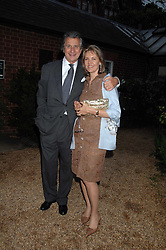 ARNAUD & CARLA BAMBERGER at the annual Cartier Chelsea Flower Show dinner held at the Chelsea Physic Garden, London on 21st May 2007.<br /><br />NON EXCLUSIVE - WORLD RIGHTS