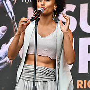 Jesus Christ Superstar perfroms at West End Live 2019 in Trafalgar Square, on 22 June 2019, London, UK.