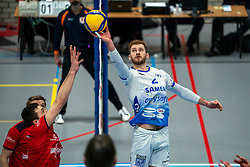 Luke Herr of Lycurgus in action during the league match Taurus - Amysoft Lycurgus on January 16, 2021 in Houten.