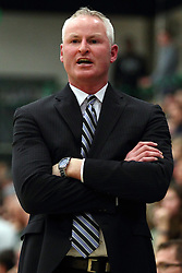 20 February 2016:  John Baines during an NCAA men's division 3 CCIW basketball game between the Elmhurst Bluejays and the Illinois Wesleyan Titans in Shirk Center, Bloomington IL